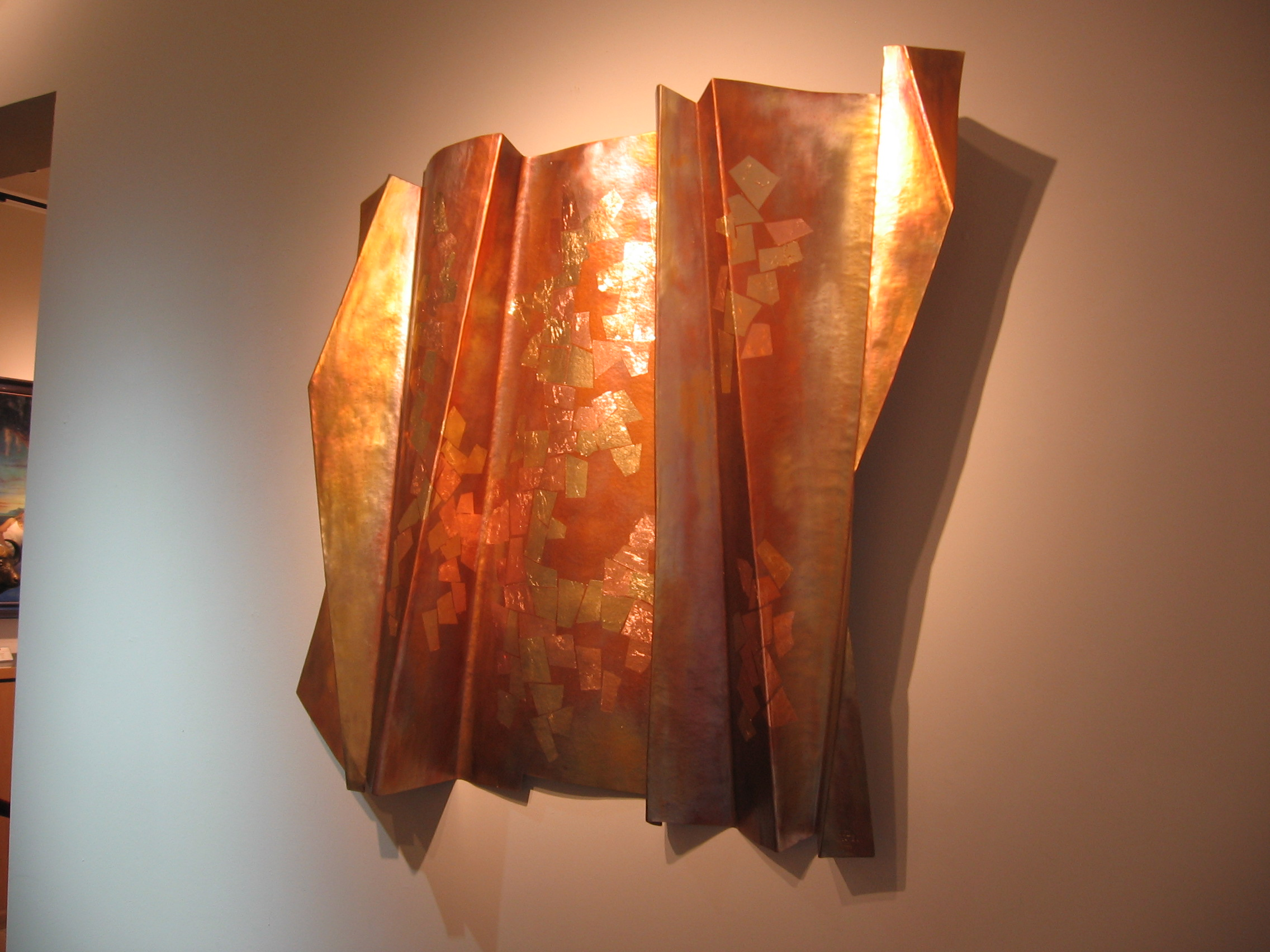 Thomas Markusen Copper Art At A Scottsdale Art Gallery