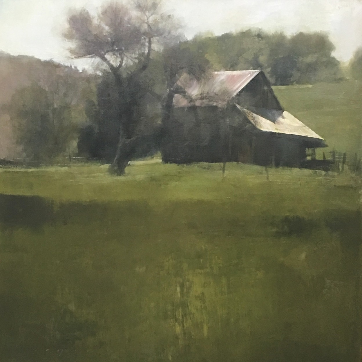 FryerDouglas Hilltop Farm 30x33 - Artists