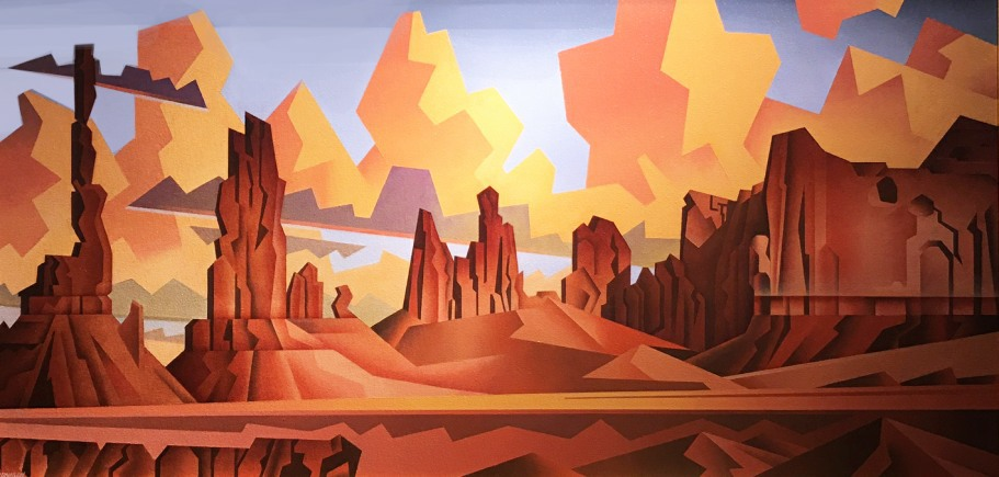 Jonason Monument Valley Panorama 24x48 7900 1 - Artists