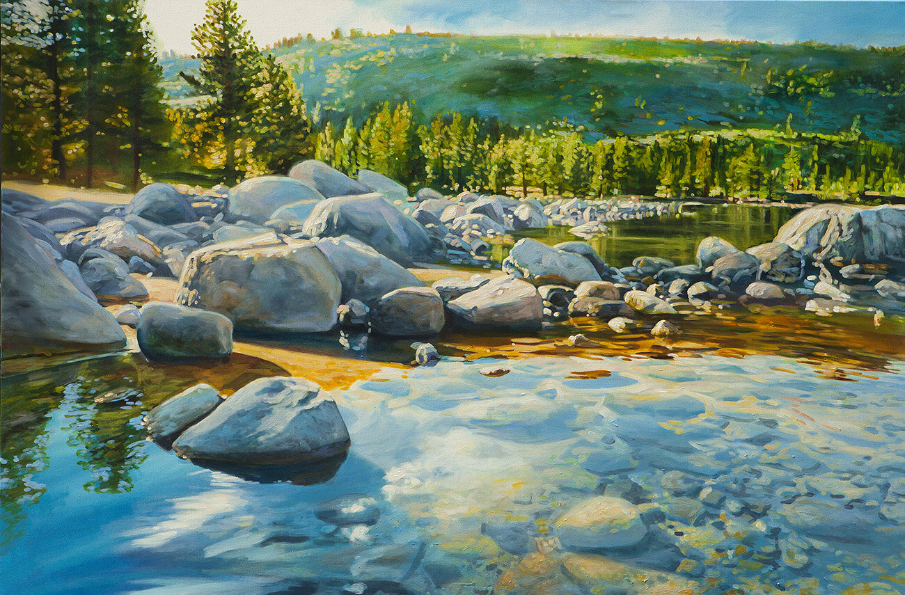 Twin Lakes Mammoth 48x72 12000 - Artists